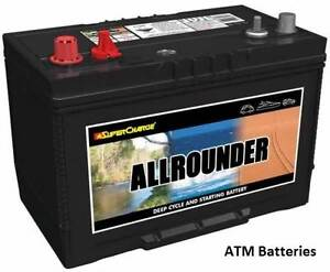 105ah deep cycle Allrounder  battery FREE DELIVERY Supercharge Adelaide CBD Adelaide City Preview