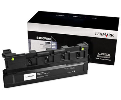 Lexmark Waste Bottle (Lexmark Waste Toner Bottle - Black - Laser - 90000 Page (54g0w00))