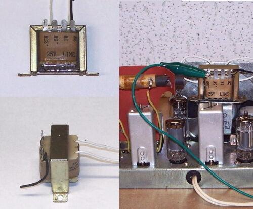 LOW-COST audio Output Transformer vintage vacuum tube radio - amplifier kit part