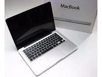 "13"" Aluminium Unibody 2.4Ghz Dual Core Apple MacBook 8GB 320GB Native Instruments Cubase Ableton FM8"