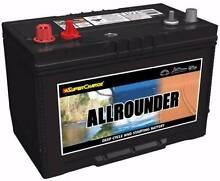 12V 105Ah / 120Ah Deep Cycle Batteries. 4X4, 4WD, Camping, Solar Acacia Ridge Brisbane South West Preview