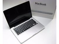 "13"" ALUMINIUM APPLE MACBOOK 2GHZ 4GB 160GB HD FL STUDIO OFFICE 2016 FINAL CUT PRO X PLEX TV CUBASE"