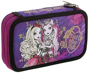 Ever After High-Double Tier Filled Pencil Case Stationery