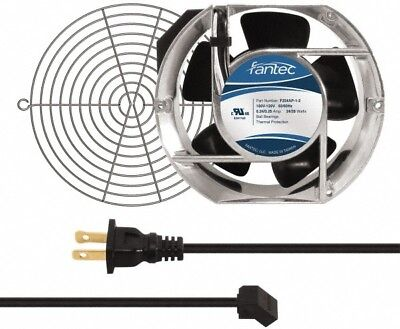 Value Collection 115 Volts Ac 240 Cfm Oval Tube Axial Fan Kit 0.46 Amp Rat...