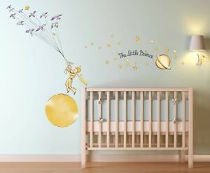 Le petit prince stars wall decal sticker art kids room ebay - Sticker petit prince ...