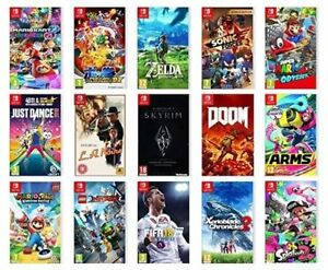 We Got Gamez: Nintendo Switch Games- New and Used!