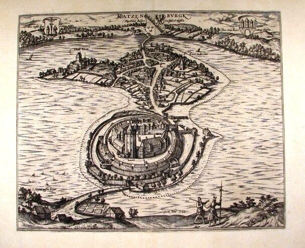 Antique map, Ratzenburgk