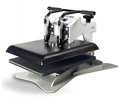 Geo Knight Dk20s Heat Press 16x20 Swing-away Machine W New All Thread Design