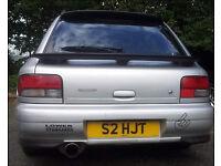 Subaru Impreza STI rear lights
