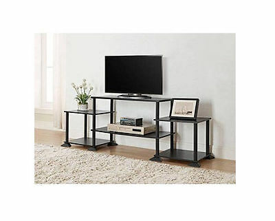 مكتبة تلفزيون جديد TV Stand Entertainment Center Media Console Furniture Wood Storage Cabinet NEW