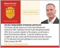 Project Management Extension Certificate