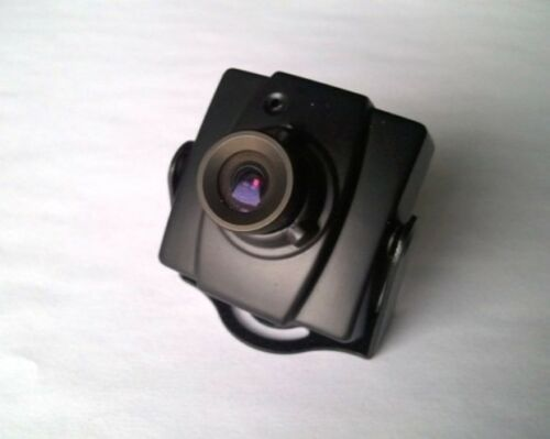 2PK  CCTV Metal Mini Box Spy Camera Housing / Case with lens without Camera