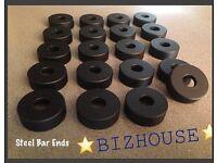 In Black 14mm BMX Axle Nuts Bizhouse NADZ NEW