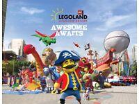 2 x Legoland Windsor Resort tickets for Saturday 7th July 2018