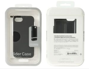 NEW GENUINE INCASE SLIDER CASE *BLACK* APPLE iPHONE 5 iPHONE5 MATTE SOFT TOUCH