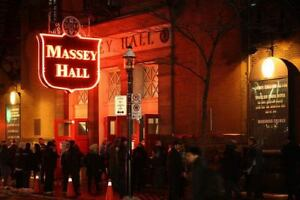 Massey Hall Schedule and Tickets available for Toronto