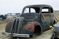 Vintage Car and Truck parts inventory reduction