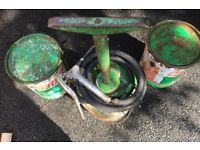 Grease pump castrol 12.5 kg vintage £50