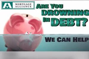 Are you drowning in debt? Debt Consolidation/Rainy day Loan