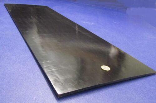 """Tivar UHMW PE Black Sheet .250"""" (1/4"""") Thick x 12"""" Wide x 36"""" Length"""