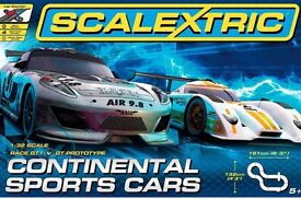 NEW and UNUSED Scalextric Continental Sports Car Set
