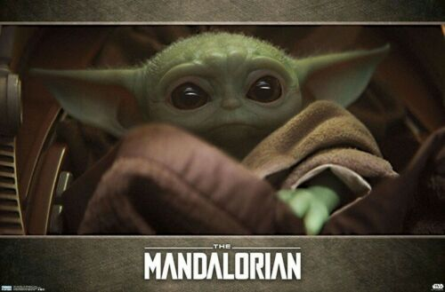 THE MANDALORIAN - BABY YODA POSTER - 22x34 - STAR WARS 18511