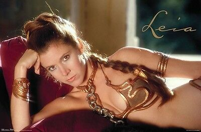 Star Wars   Princess Leia   Classic Poster   22X34   Movie Carrie Fisher 8876