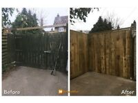 Fencing /Decking /garden bars/Decking /sheds/Gates