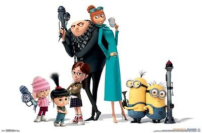 DESPICABLE ME 3 - CHARACTERS MOVIE POSTER 22x34 - MINIONS 14945