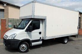 man with van van hire rental van delivery service local nearby