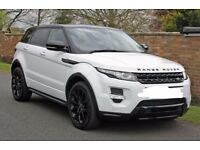 RANGE ROVER EVOQUE FOR HIRE WITH CHAUFFER FOR ONLY £70 PER HOUR