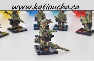 Call of duty! FALCON COMMANDOS Heavy Fire Weapons Tactics,Lego Regina Regina Area image 8