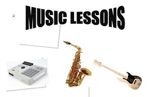 Saxophone/Ableton/ Guitar and Keys Lessons Preston Darebin Area Preview