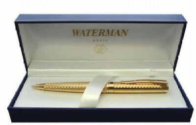 WATERMAN L`ETALON GOLD  BALLPOINT  PEN NEW  IN  BOX