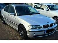Silver BMW series 3 FOR SALE