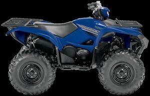 2016 Yamaha GRIZZLY 700 DAE