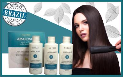 Amazonliss Brasilianisch Keratin Haarbehandlung Set 60ml von Nutree