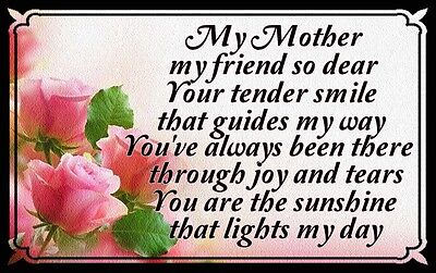 (Mothers Day Poem)  WALL DECOR,  RUSTIC,  HARD WOOD, SIGN, PLAQUE (Mothers Day Decorations)