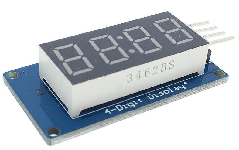TM1637 LED 4-Ziffern 7-Segment Display Uhr Arduino Raspberry