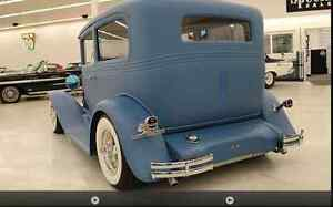 1932 CHEV ALL ORIG  ALL STEEL CAR NO BONDO AT ALL + ALL-STEEL +