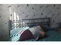 """Double divan bed 4'6"""""""