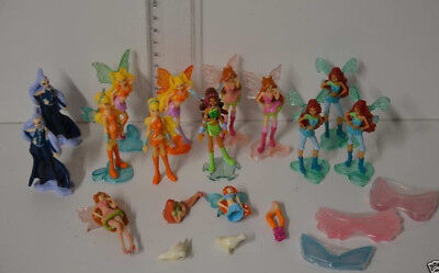 25 ) Winx Club - Ü Ei Figuren 2x Icy, 4x Stella, 4x Flora, Bloom, 4x Layla
