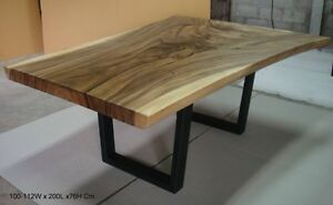 Canada's largest supplier of live edge Slabs and tables