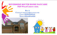 HOME DAY CARE RIVERSIDE SOUTH