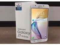 """BRAND NEW BOXED Samsung Galaxy J7 Prime Unlocked 5.5"""" 13MP SMARTPHONE;GOLD & BLACK COLOURS AVAILABLE"""