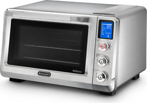 New De'Longhi Livenza Stainless Steel Digital Toaster Oven