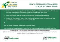Job Openings - Ask about our Quick Start Pay Program!