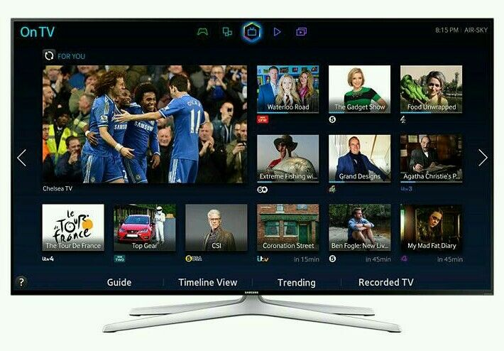 "Samsung 55"" LED smart 3D wi-fi tv builtin HD freeview fullhd 1080p"