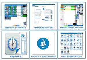Système complet de point de vente - Caisse enregistreuse