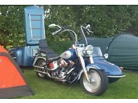 Watsonian Monza Sidecar and Trailer